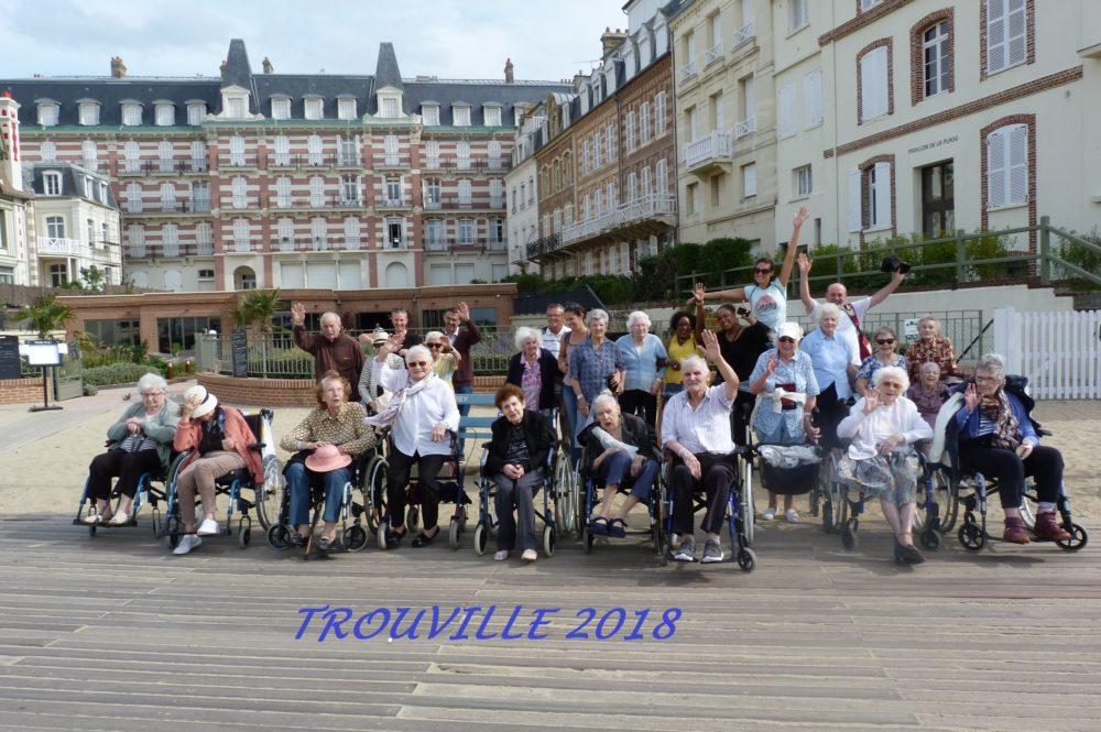 Trouville 2018 Sortie Maison du Parc